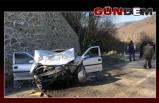 Baba-oğul Kazada Yaralandı