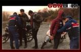 Jandarma huzur ve güven için didik didik aradı!..
