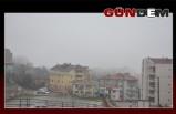Zonguldak'ta Yağmur ve sis etkili oluyor!..