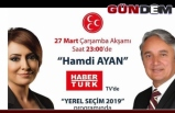 Ayan, Haber Türk'e konuk olacak