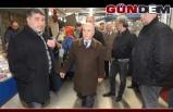 ŞENOL ŞANAL, PAZARCI ESNAFI İLE BİR ARAYA GELDİ