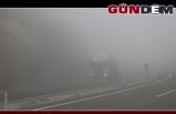 Zonguldak'ta sis! Görüş mesafesi 35 metreye kadar düştü