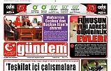 25 Nisan 2019 Perşembe Gündem Gazetesi