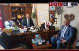 Başkan Öztürk'ten Başkan Kantarcı'ya ziyaret