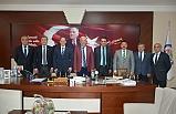 CHP MİLLETVEKİLLERİNDEN BAŞKAN POSBIYIK'A ZİYARET..