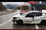 Devrek'te Kaza: 4 yaralı