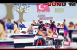 Gönüllü gençler köy okulunu tamir ettiler