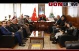 Gümrükçü ve ekibinden Başkan Alan'a ziyaret