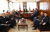 MHP'den Ömer Selim Alan'a ziyaret