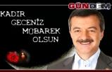 AK Parti Milletvekili Polat Türkmen Kadir Gecesini kutladı