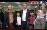 Başkan Alan, şehit aileleriyle buluştu