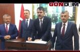 BAKAN MURAT KURUM ZONGULDAK'A GELDİ!..