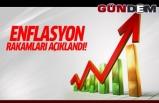 Enflasyon rakamları açıklandı!...