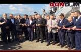 Zonguldak'a ilk uçak seferini yapan THY'na çiçekli karşılama