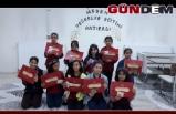 Muhacir Öğrencileri Katılım Belgelerini Aldılar
