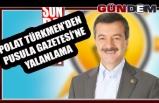 Polat Türkmen'den Pusula Gazetesi'ne yalanlama