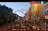Saltukova halkı caddede iftarını açtı