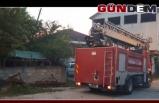 Elektrik sayacından yangın çıktı!..