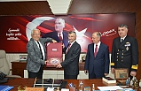 VALİ BEKTAŞ'TAN, BAŞKAN POSBIYIK'A ZİYARET..