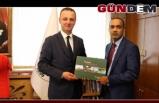 Bangladeş Başkonsolosu'ndan Başkan Alan'a ziyaret