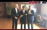 Alan ve Tosun'dan AFAD Başkanına ziyaret