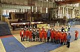 Çelik sektörü sahada incelendi