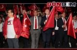 Devrek'te Milli Birlik yürüyüşü