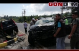 Ereğli'de kaza: 1'i çocuk 5 yaralı