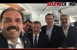 Milletvekili Türkmen'de tanıklık etti!