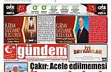 10 AĞUSTOS 2019 .CUMARTESİ GÜNDEM GAZETESİ