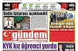24 AĞUSTOS 2019 CUMARTESİ GÜNDEM GAZETESİ