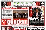 29 AĞUSTOS 2019 PERŞEMBE GÜNDEM GAZETESİ