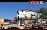Erçal'da hasar büyük...