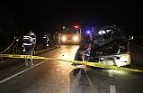 Feci Kaza: 1 Kişi Öldü 2'si Çocuk 6 Kişi Yaralandı.