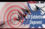 4.9 büyüklüğünde deprem!..
