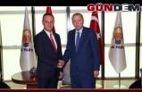 Başkan Alan, Cumhurbaşkanı Eroğanla görüştü