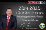 Başkan Tekin'den Eğitim-Öğretim yılı mesajı!..