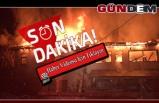 Eski belediye başkanının evi alev alev yandı!..