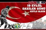 GAZİLER GÜNÜNÜ KUTLADI..