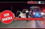 Polisin dur ihtarına uymadı, kaçarken kaza yaptı...