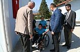 Kaymakam Altay Engelli Bir Öğrenci İle Yakından İlgilendi