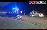 Ereğli OSB yolunda kaza. 2 yaralı