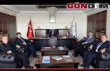 GMİS, Rektör Çufalı'yı ziyaret etti