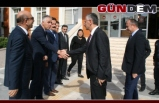 Kaymakam Altay Vali Bektaş'ı Kapıda Karşıladı