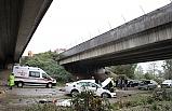 Otomobil 30 metrelik viyadükten uçtu: 2 ölü, 2 yaralı