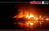 Parke fabrikasında yangın!..