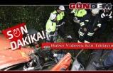 Tır iki otomobile çarptı, şarampole uçtu; 1 ölü