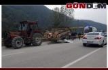 Traktörden çıkan römork devrildi: 1 Kişi Hayatını Kaybetti