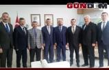 Zonguldaklı heyetten Genel Müdür Keskin'e ziyaret