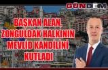 Alan, Zonguldak halkının Mevlid Kandilini kutladı